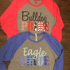 Shop Bald eagle T-Shirt created by AnimalsForYou. Cheer Shirts, Football Mom Shirts, Team Shirts, Vinyl Shirts, Teacher Shirts, Sports Shirts, School Spirit Shirts, School Spirit Wear, Tiger Shirt