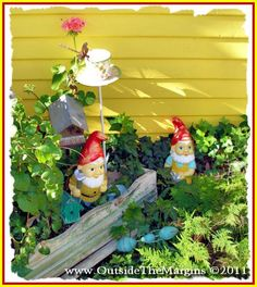 I love gnomes now....it's going to be a problem.