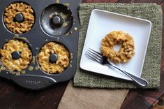 Mac and cheese donuts