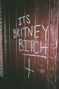 it´s britney bitch