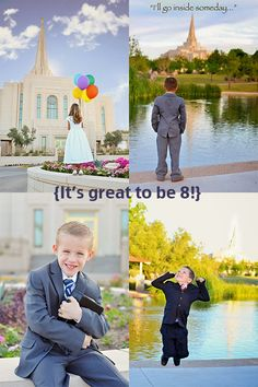 Stephanie Foster Photography: It's great to be 8! LDS baptism photo shoot.  Gilbert Arizona Temple. LDS baptism photography ideas.  Gilbert AZ photographer.