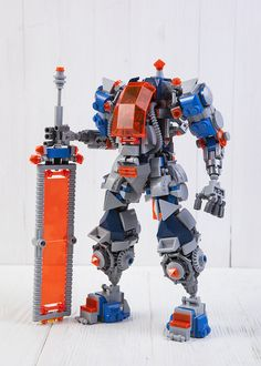 Clay's mech | by Pilation