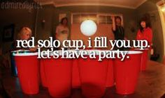 This is Toby in a nutshell. Red Solo Cup- Toby Keith