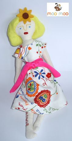Leo Doll, a version of a free pattern by Mimi Kirchner