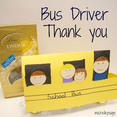 michelle paige: Bus Driver Thank You Gift