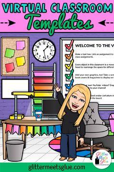 Elementary Classroom Themes, Classroom Banner, Online Classroom, Google Classroom, Elementary Teacher, Kindergarten Classroom, Art Classroom, School Classroom, Classroom Activities
