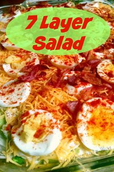 In my family a holiday meal is not complete without a 7 Layer Salad. This recipe is popular on many southern menus. I've had several varieties of this salad. You can always change it up to ad…