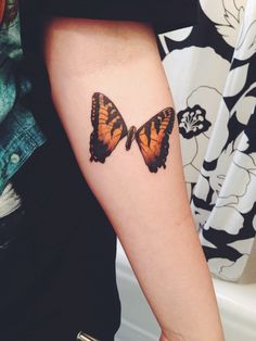 Paramore butterfly tattoo