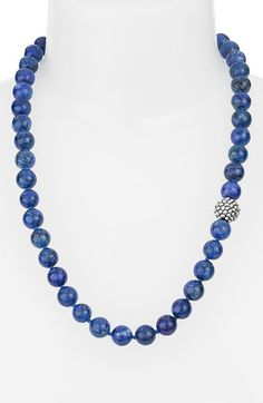 Free shipping and returns on Simon Sebbag Stone Beaded Necklace at Nordstrom.com. Lovely stone beads offer mesmerizing color on a handcrafted necklace accented with a single sterling-silver station.