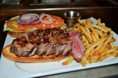 Incredible Steak Sandwich I Had In Dallas Last Week. (X-Post From Dallas Food)