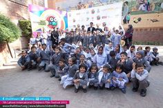 Day 1: Children from Ghani Welfare Foundation School Shahedra  7th Lahore International Childrens Film Festival Presents (16-21 November2015)  World's best 77 film from 26 countries  For more details http://ift.tt/1Mphz2c http://ift.tt/1WVCc03  twitter.org/tlaorg instagram.com/tlaorg  #TLAORG #LICFF #Lahore #Children #Film #Festival #Pakistan #Kids