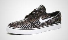 Nike SB Stefan Janoski Tiger Stripe Brown / Black