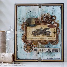 A vintage touch by Emma! Transport it!