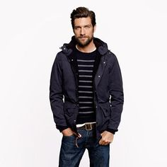 Hooded Heathfield jacket - outerwear - Men's New Arrivals - J.Crew