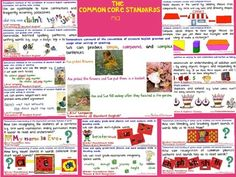 "FREE Cutest-EVER ""COMMON CORE Posters!... Matching Social Studies Set will be posted soon, so Follow on TpT for download notification :)"