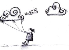 happy cloud sketch by marcia.furman, via Flickr
