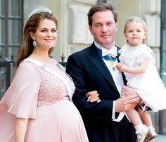 Princess Madeleine's Newborn Son... Photo Released: See the Adorable Swedish Prince!