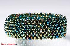 Pulsera con Twin Beads