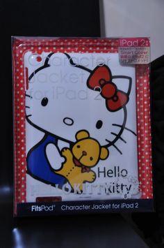 my hello kitty ipad case