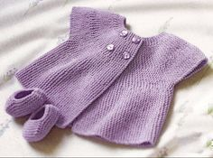 Really cute FREE knitting patterns for babies by Anita Whittingham