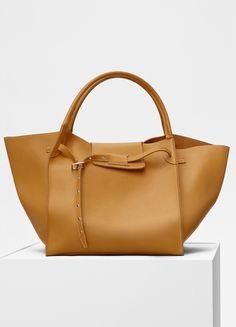 ce8ad6751ac5 Celine Dark Yellow Medium Big Bag Hip Bag