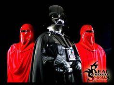 Darth Vader & Royal Guards / Fotografía: José A. Cerqueiro / Cosplay: Real Shows / www.Real-Shows.com