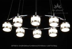 ĐÈN THẢ LED - AP113-8