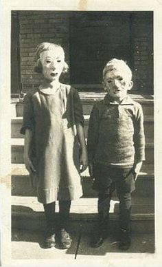 ~i guess Halloween costumes were just different then.... and now are just very creepy!