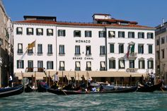 Hotel Monaco & Grand Canal in Venice, Italy. This is where we stayed!