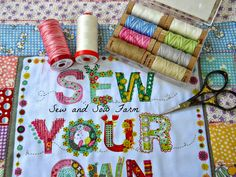 Go visit Sew and Sow Farm by Jan Manley to enter for you chance to win an amazing giveaway including Aurifil thread and fabric from Fat Quarter Shop!  To read all the details and to enter for your chance to win please visit http://sewandsowfarm.blogspot.com/2014/07/sew-your-own-and-5-giveaways.html