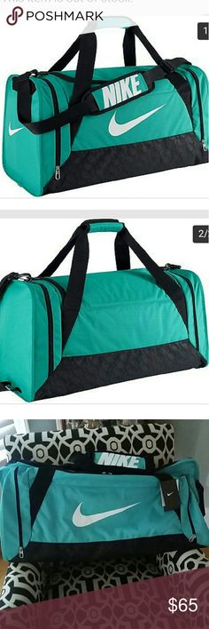 edba1977036e NEW Nike Large Duffel Bag New tags still attached! Teal color Grab your  gear and