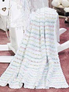 Sweet Dreams Baby Afghan free crochet pattern