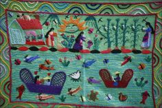 embroidery in michoacan mexico - Google Search