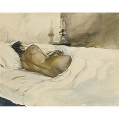 Spring Evening - Andrew Wyeth 1948