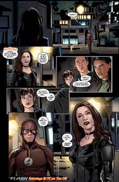 The Flash — Team Flash meets Black Siren on Tuesday's new...