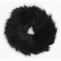 Boohoo Mia Faux Fur Scrunchie ($3) ❤ liked on Polyvore featuring accessories