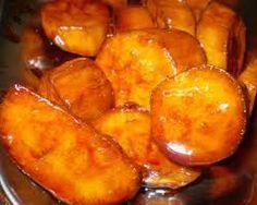 COMIDINHAS FÁCEIS: Batata doce caramelizada