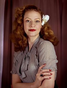 Lilly Jarlsson - Retro 1940s Style Photography