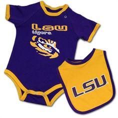 LSU Baby Clothing