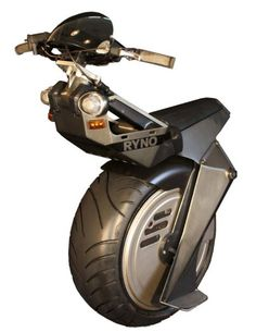 Ryno Motors Unicycle Brings Aggressive One-Wheeled Styling