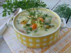 Zupa z fasolki szparagowej. Jest bardzo smaczna i pożywna. Polecamy!