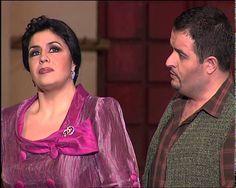 La Rosa Del Azafrán. Zarzuela. Dúo Sagrario y Juan Pedro