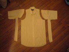 Tuto couture : Transformer une chemise moche en chemisier