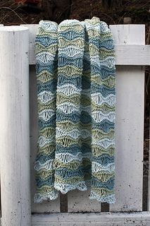 Breezy Baby Blanket by Anna & Heidi Pickles // Free pattern!