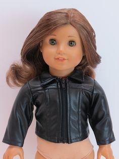 Trendy Dolls - Leather Like Jacket for 18 inch American Girl Dolls, $10.00 (http://www.mytrendydoll.com/18-inch-doll-separates/leather-like-jacket-for-18-inch-american-girl-dolls/)