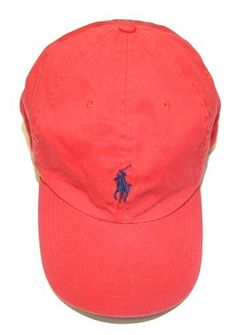 Polo Ralph Lauren Men Big Pony Logo Hat Cap (One size 71de0fffbae7