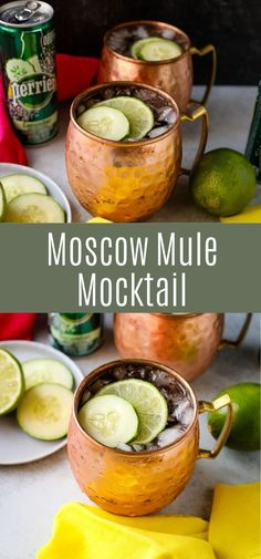 #ad I love a good cocktail and it's always fun to mix up drinks when we have friends over! We've been looking for refreshing alternatives to alcoholic cocktails and this Moscow Mule Mocktail is made… More
