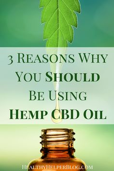 3 Reasons Why You Should Be Using Hemp CBD Oil Healthy Helper Three important reasons why you should be incorporating Hemp CBD oil into your daily healthy living routine. Unlike, THC, CBD is non-psychoactive. CBD and THC are completely d Medical Cannabis, Cannabis Oil, Oil Benefits, Health Benefits, Health Tips, Cdb Oil, 100 Pour Cent, Endocannabinoid System, Cbd Hemp Oil