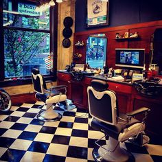 Farzad's Barber Shop, Vancouver, BC, Canada You got to love this kind of place!