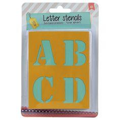 hobby letter stencils 48st